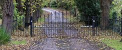 driveway with gate