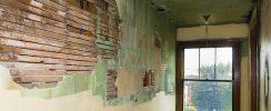 wall need renovating
