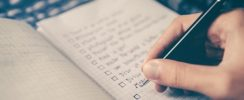 creating checklist