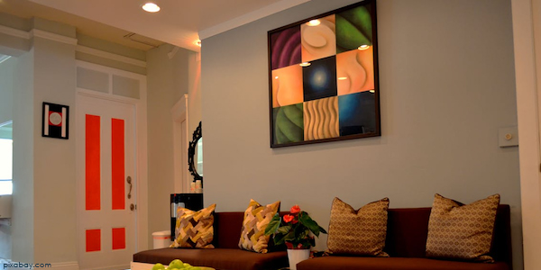 Living Room of Flat