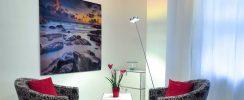 floor lamp in home