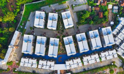 aerial rooftops